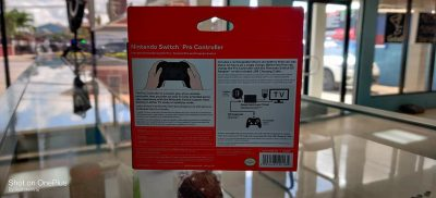 Nintendo Switch Pro controllers